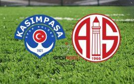CANLI | Kasımpaşa – Antalyaspor
