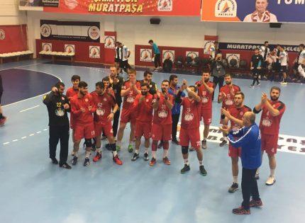 Antalyaspor Hentbol Takımı evinde kazandı