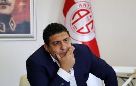 Antalyaspor'a eski başkandan icra şoku!