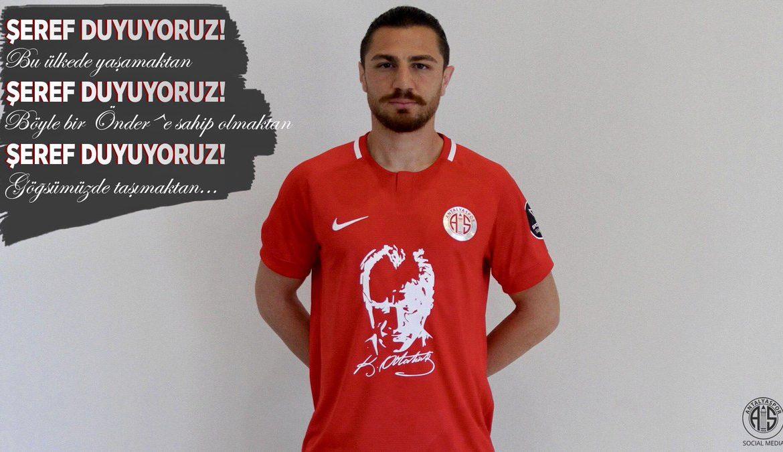 Antalyaspor 'Atatürk' formasıyla sahaya çıkacak