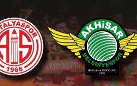 CANLI | Antalyaspor – Akhisarspor