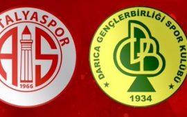 CANLI | Antalyaspor – Darıca Gençlebirliği