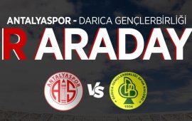 Antalyaspor taraftarı kupa maçında 'Bir arada' olacak