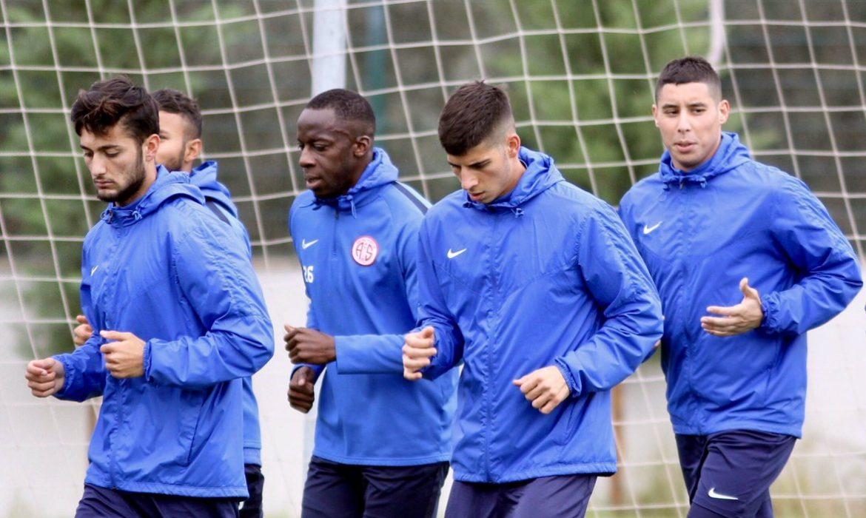 Antalyaspor, Bursaspor maçının hazırlıklarına başladı
