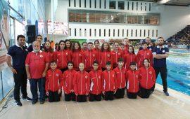 Antalyaspor Yüzme Takımı Trabzon'dan madalyalarla döndü