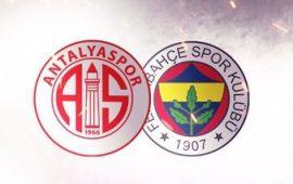 CANLI | Antalyaspor – Fenerbahçe