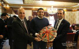 Evkur Yeni Malatyaspor – Antalyaspor maçı öncesi dostluk yemeği