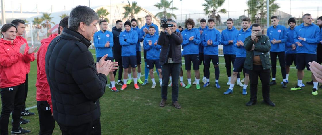 Türel'den Antalyaspor'a ziyaret