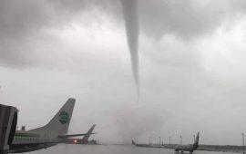 Antalya'da fırtınanın hızı saatte 130 kilometreye çıktı