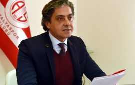 Antalyaspor'dan 'proje' tepkisi