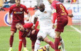Antalyaspor 0 – 0 Kayserispor