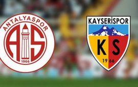 CANLI | Antalyaspor – Kayserispor