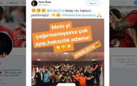 Antalyaspor Yöneticisi'nden Mete Kalkavan'a sert gönderme