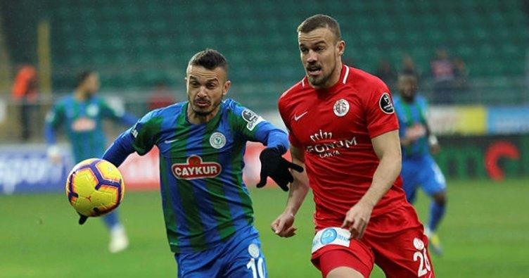 Antalyaspor, Rizespor ile karşı karşıya gelecek