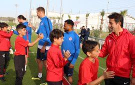 Antalyaspor'un iki nesli bir araya geldi