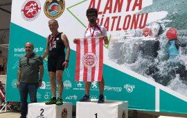 Antalyaspor'dan 3 madalya birden