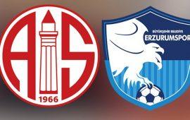 CANLI | Antalyaspor – BB Erzurumspor