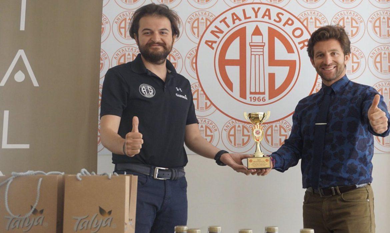 Antalyaspor Triatlon Takımı'na Talya'dan destek