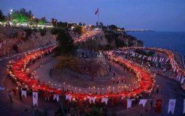 Antalya halkı yine tüyleri diken diken etti