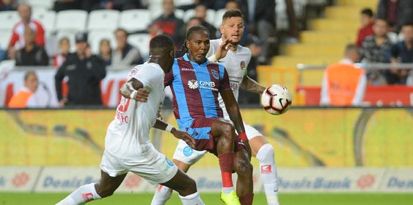 Trabzonspor ile Antalyaspor 46. randevuda