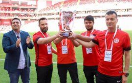 Antalyaspor kupasına ulaştı !
