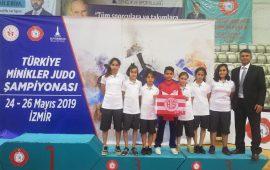 Antalyaspor'un minik judocuları mindere çıkıyor