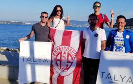 Antalyaspor'dan 3 madalya