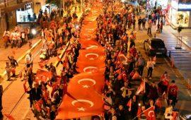 Antalya'da 19 Mayıs coşkuyla kutlandı