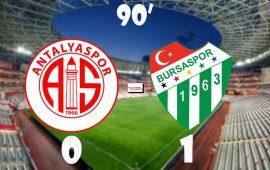Antalyaspor – Bursaspor (CANLI)