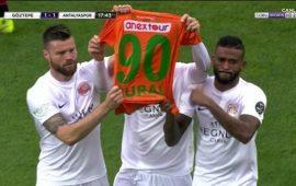 Antalyaspor'dan anlamlı hareket