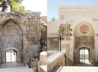 800 yıllık kapı yepyeni oldu!