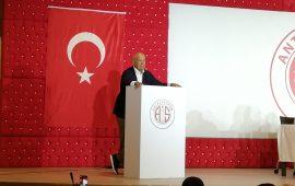 Antalyaspor Kulübü Derneği'nin yeni Başkanı Fikret Öztürk oldu