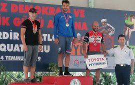 Antalyaspor Triatlon Takımı'ndan 5 Madalya