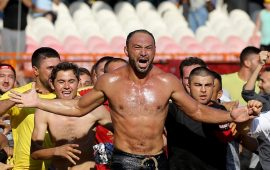 Kırkpınar'da Altın Kemer Ali Gürbüz'ün oldu