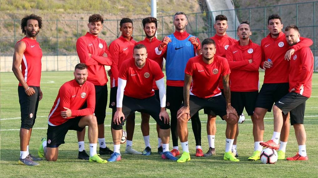 Antalyaspor'da Erzurum kampı başladı