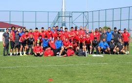 Antalyaspor'da tatil zamanı