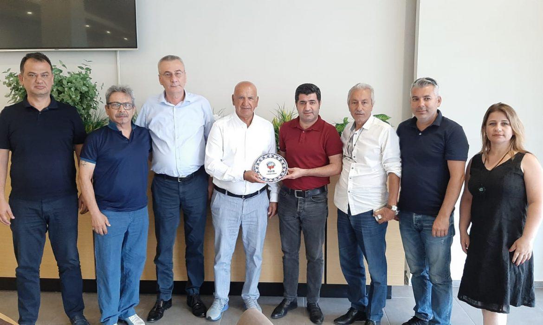 TSYD'den Antalyaspor'a ziyaret