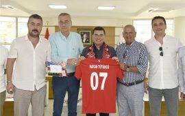 Antalyaspor'dan Kepez'e ziyaret
