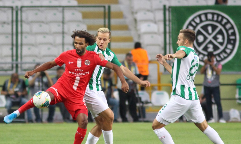 Konyaspor 2 – 2 Antalyaspor