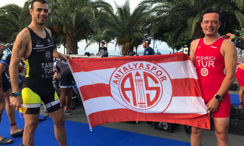 Antalyaspor Triatlon Takımı'ndan 3 madalya