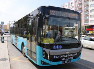 Antalya'da toplu ulaşıma zam