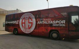 CIP Travel Antalyaspor'un otobüsü yeni sezona hazır