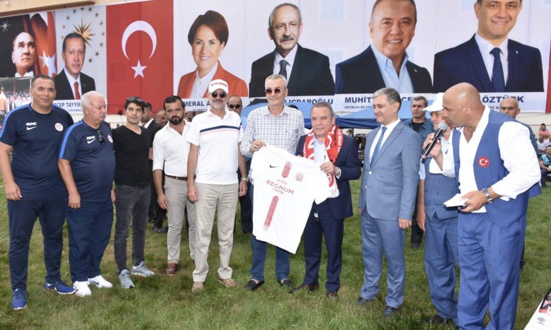 Antalyaspor'dan forma jesti