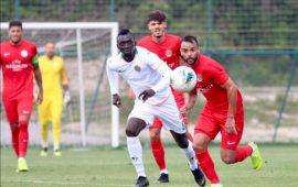 Hazırlık maçında Antalya derbisi