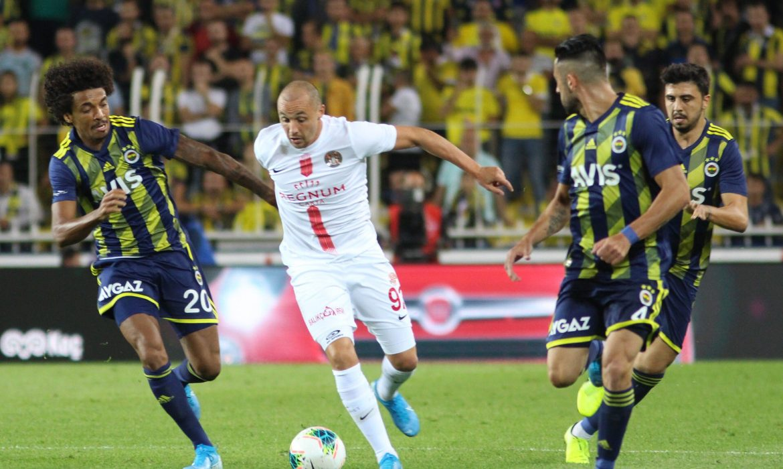Fenerbahçe'nin serisi bitti
