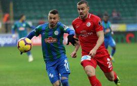 Rekabette Antalyaspor önde