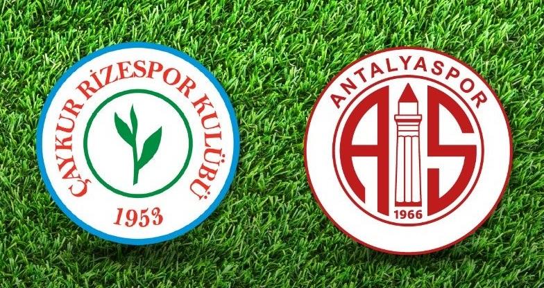 CANLI | Çaykur Rizespor – Antalyaspor