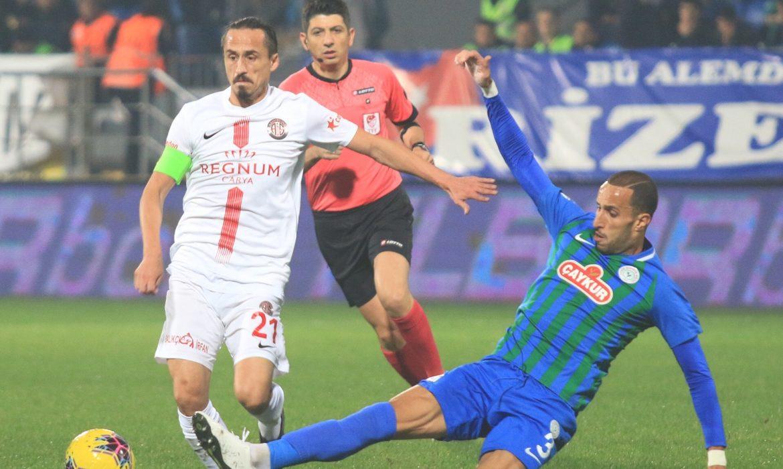Çaykur Rizespor 1 – 0 Antalyaspor