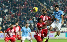 Antalyaspor istatistiklerde fark yarattı