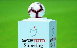Süper Lig'de 3 haftalık program belli oldu